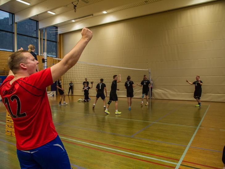 VSI sikra seg plass i semifinalen i studentmesterskapet i Sogndal hausten 2017.