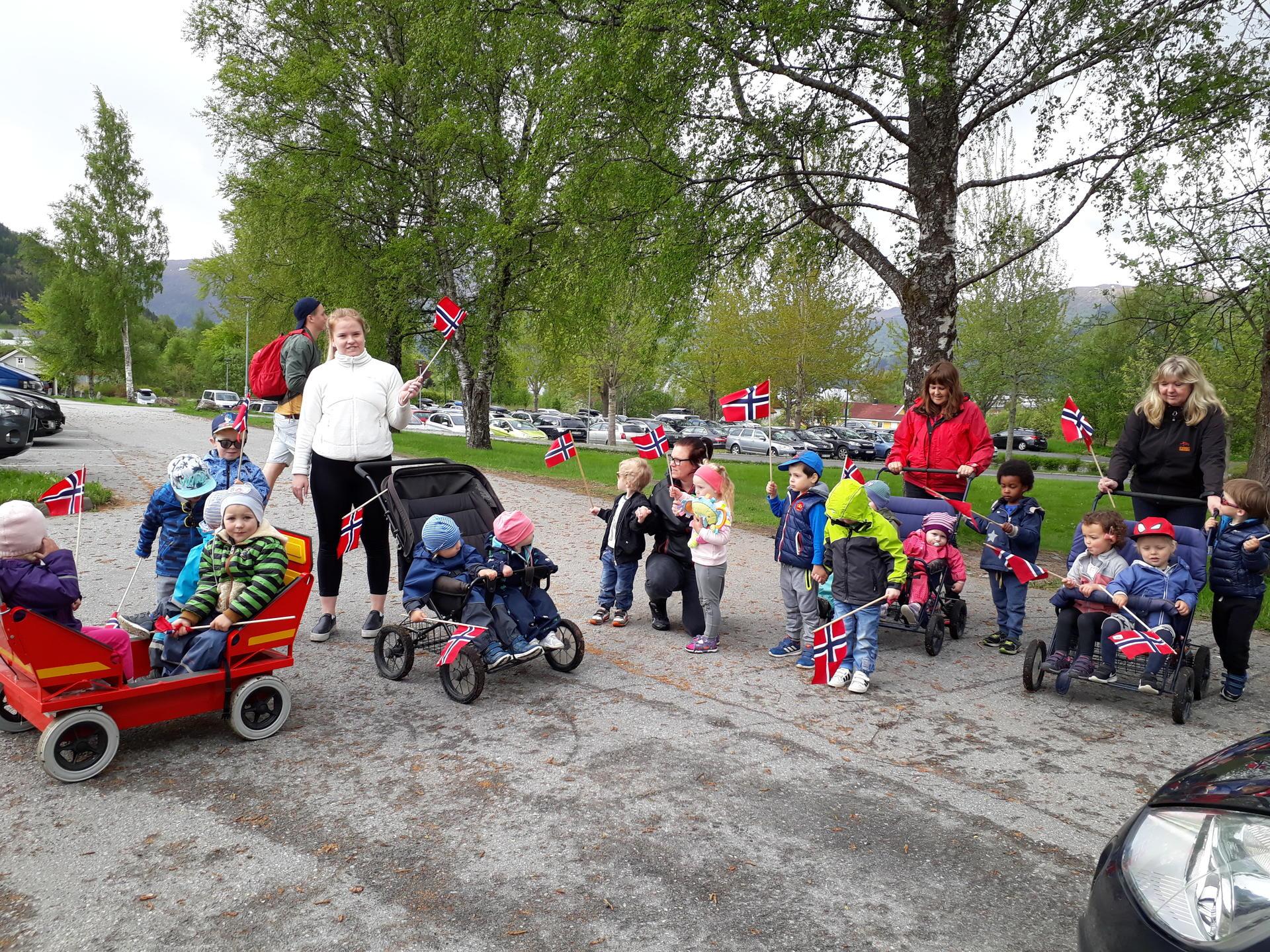 Flagging i barnehagen